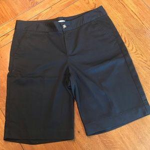 Dockers Black Bermuda Shorts